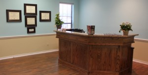 Our Veterinary Hospital Lobby