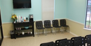 Veterinary Hospital Waiting Room